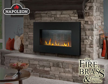 The Fire Brass Patio House